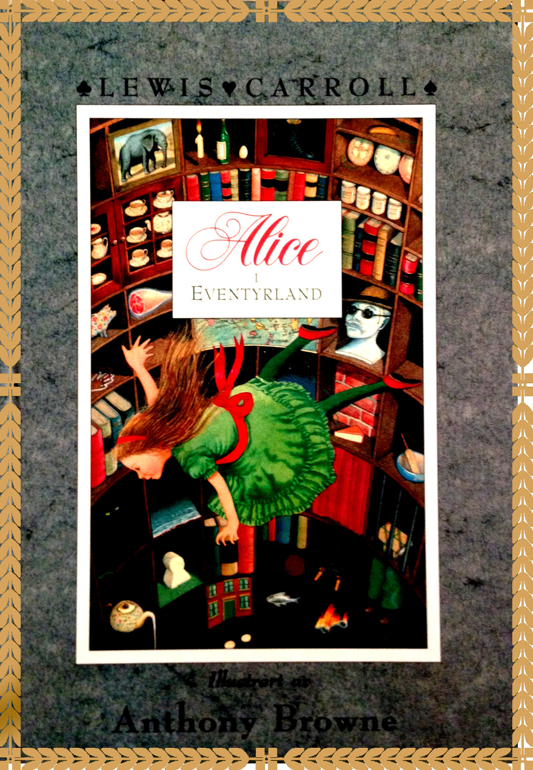 Alice Harikalar Diyarında -Anthony Browne-