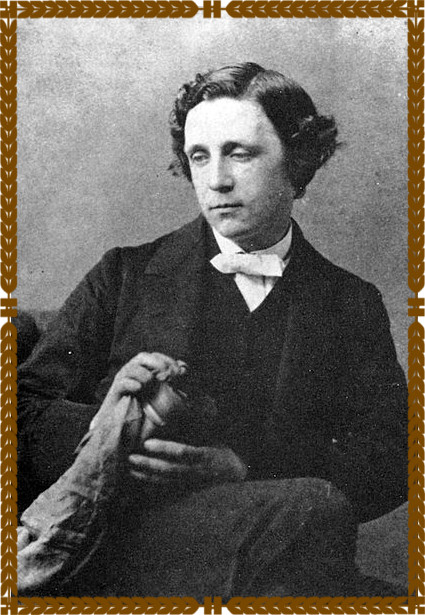 http://commons.wikimedia.org/wiki/File:Lewis_Carroll_1863.jpg Lewis Carroll 1863