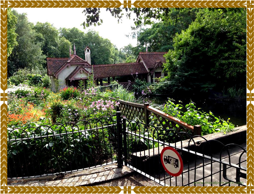 Swiss Chalet in St James's Park London