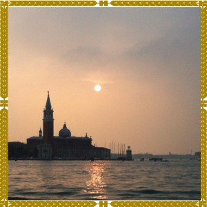 Venedik'te Gun Batarken-When the Sun Sets in Venice-