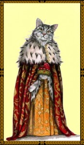 The Doge Cat Bookmark - http://www.insigniamasks.com.au/venetian-cats-as-traditional-venetian-characters